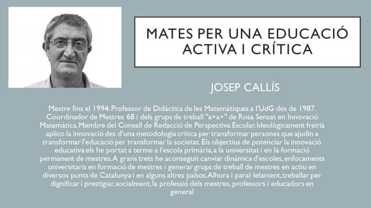 Xerrada Josep Callis